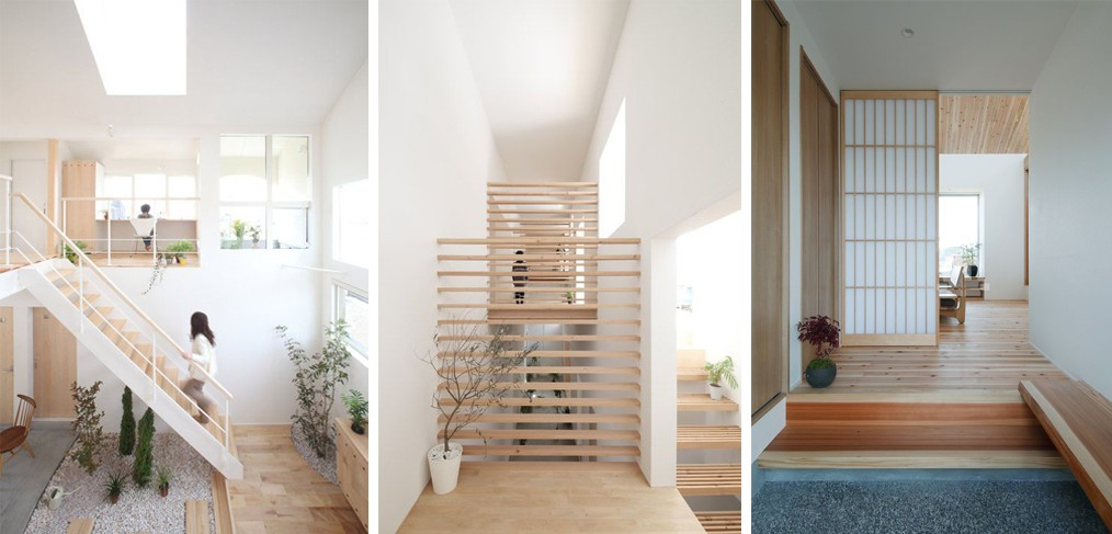 Feeling calm in japanese style granito - Calming zen house design bringing japanese style into singaporean home ...