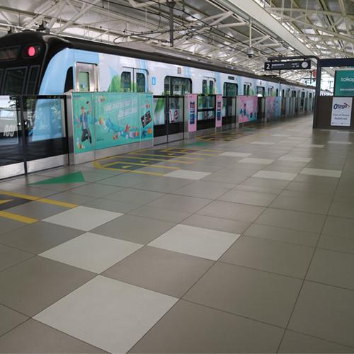 MRT Station Jakarta