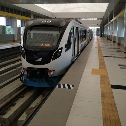 LRT Station, Palembang